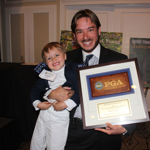 Watch Kevin Chin receive the 2019 PGA Deacon Palmer Award